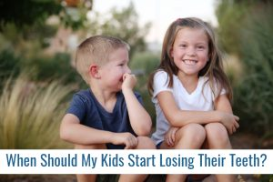 When Should My Kids Start Losing Their Teeth