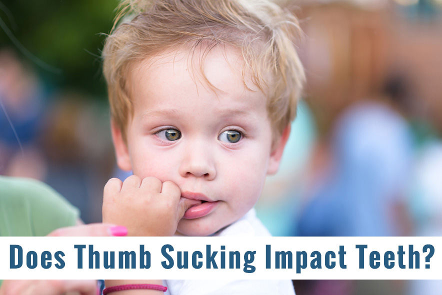 Affects Of Thumb sucking on childs teeth