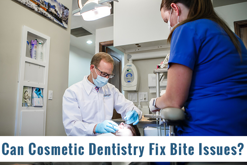 Can Cosmetic Dentistry Fix Overbite and Underbite